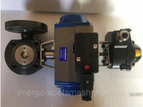 Клапан VALPRES DN32 c пневмоприводом KLINDER DK