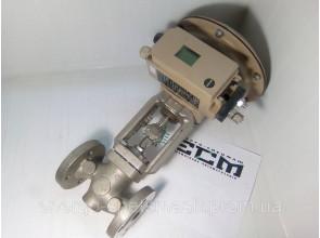 Регулирющий клапан Samson 3241 DN25 с приводом 3277 и позиционером 3730-3