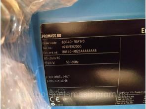 Масcовый кориолисовый расходомер DN40 EndressHauser Promass 80F40